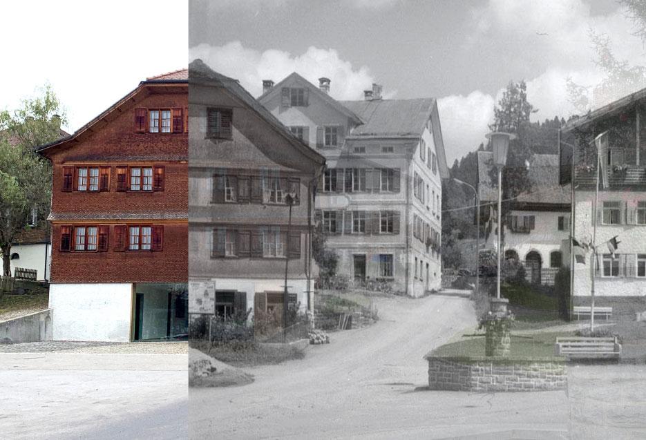 Früher und Heute –Café und Unverpacktladen, Badhus Lingenau, Bregenzerwald